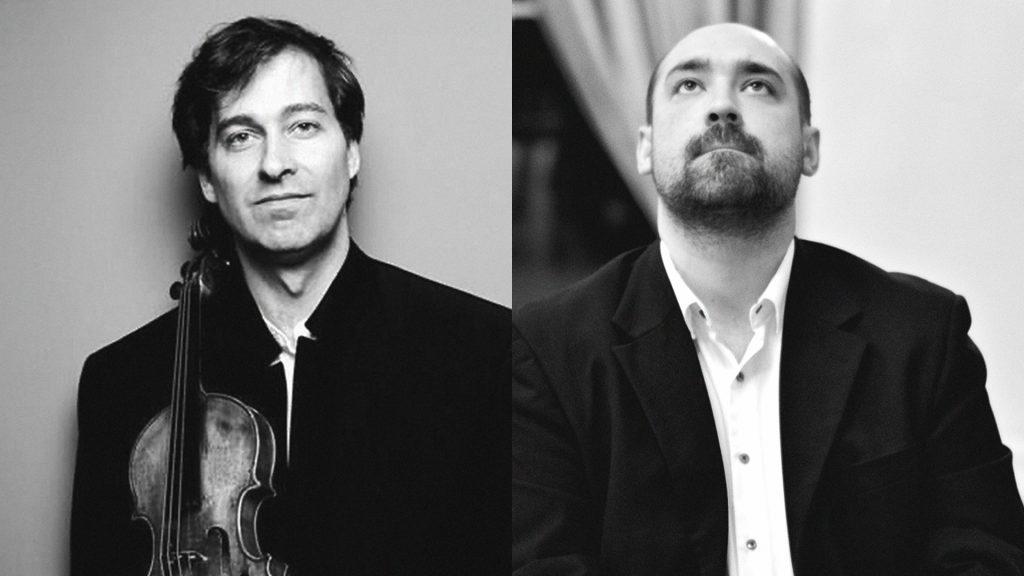 Muzika dviems: Justas Šervenikas (fortepijonas, Lietuva), Philippe Graffin (smuikas, Prancūzija)