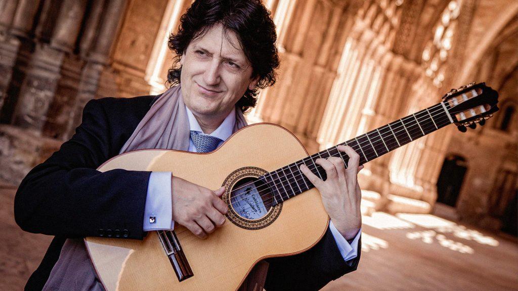 Juan Manuel Cañizares (gitara, Ispanija), Viktoras Paukštelis (fortepijonas, Lietuva)