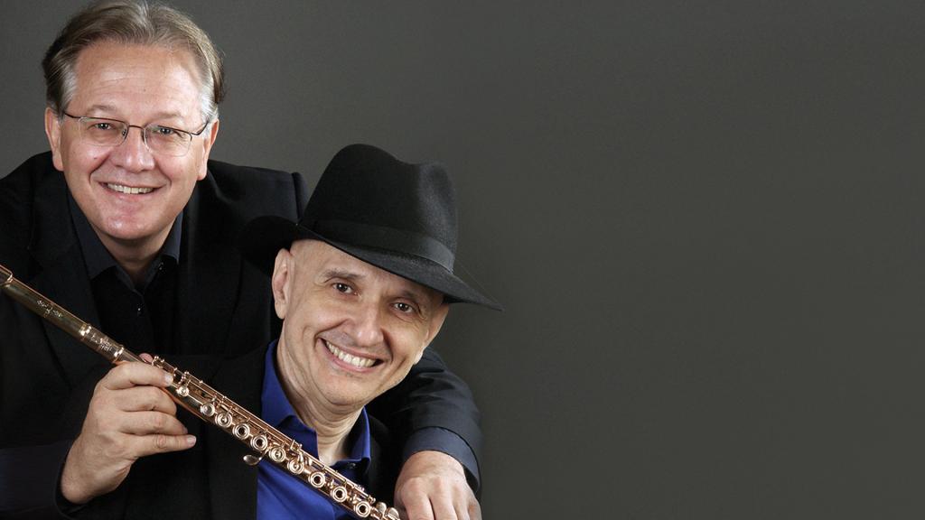 "Ennio Morricone ""Happy Birthday Maestro"": Giuseppe Nova (fleita, Italija) ir Luigi Giachino (fortepijonas, Italija)"