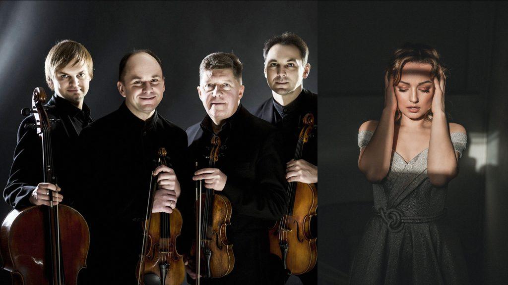 Gyvenimas lyg sapne: Čiurlionio kvartetas (Lietuva), Aistė Pilibavičiūtė (sopranas, Lietuva)