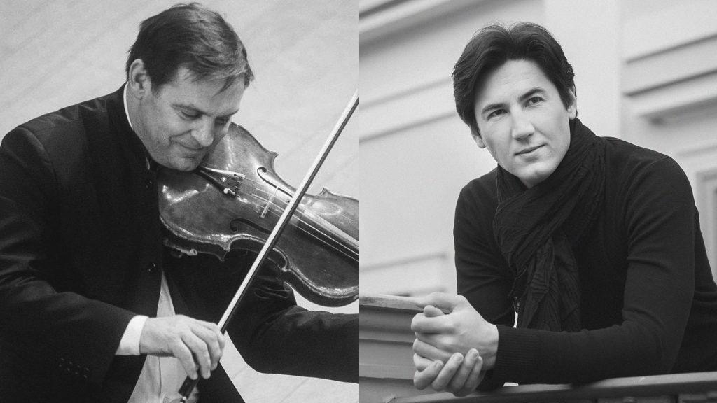 Romantizmo genijai: F. Liszt ir J. Brahms – pianistas Kasparas Uinskas (solo) ir duete su Girdučiu Jakaičiu (altas)