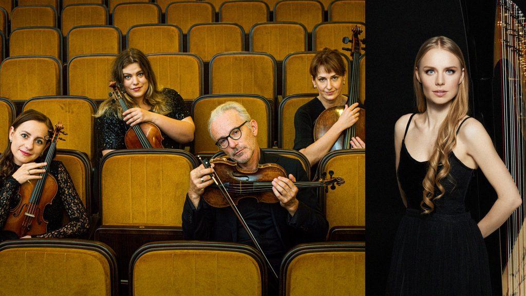 Kalėdų belaukiant: Valstybinis Vilniaus kvartetas ir Aistė Baliunytė (arfa)